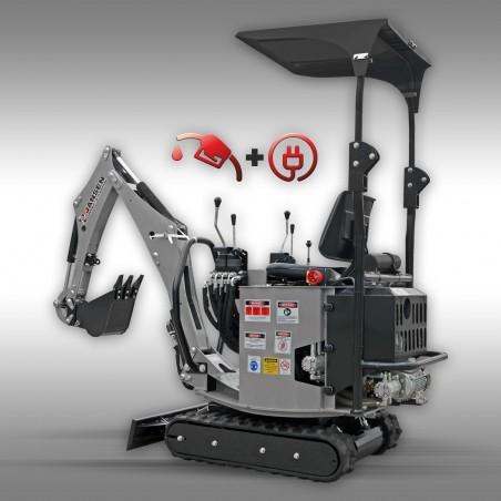 Minibager goseničar Jansen MB-1500K
