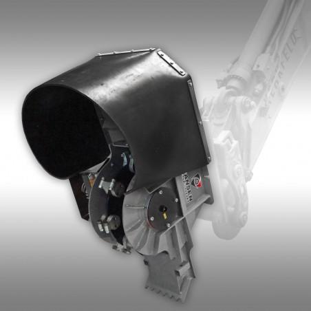 Motorna freza za uničevanje štorov, Jansen BSF-50B